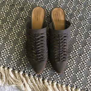 *SANITIZED* Melrose and Market Mules, Size 8